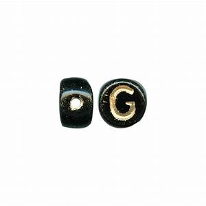 porcelain beads alphabet black gold g clearance With porcelain letters alphabet