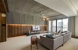 Modern apartment designs by phase6 design studio for Modern apartment interior design photos
