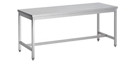 table démontable pieds carrés centrale p 700 mm stl
