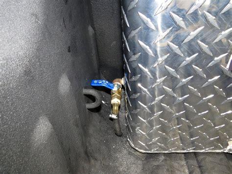 deezee truck bed auxiliary tank rectangle aluminum