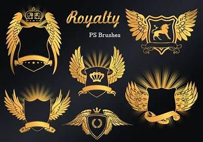 Royalty Emblem Ps Brushes Vol Abr Crown