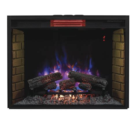electric fireplace insert reviews classic infrared electric fireplace insert review