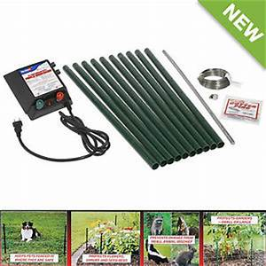 electric fence kit above ground for pet dog and small With dog electric fence kit