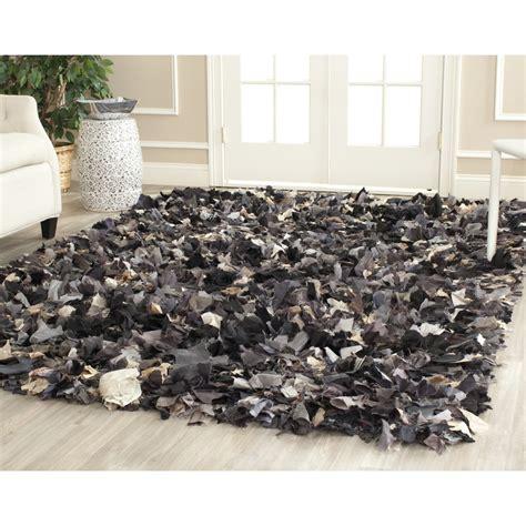 Safavieh Grey Rug by Safavieh Shag Woven Chic Grey Multi Area Rugs