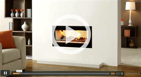 studio duplex inset wood burning fires