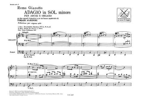 Tomaso Albinoni/remo Giazotto
