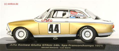 Alfa Romeo Kent by Fly 88215 Alfa Romeo Gtam Kent 1971 Weiss Gold 44 Mit