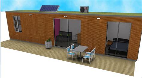 bureau aménagé studio de jardin aménagement container extension maison