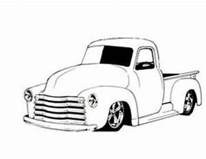 gallery for gt pencil drawings of lifted trucks drawings With 1953 ford hot rod