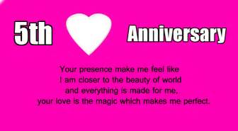5th wedding anniversary 5th wedding anniversary wishes for husband wishes4lover