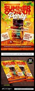 Bbq Party  Party Flyer And Flyer Template On Pinterest