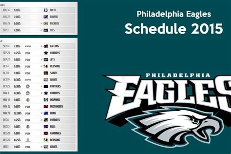 philadelphia eagles screensavers schedule