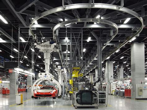 Ferrari Factory Tour Assembly Line