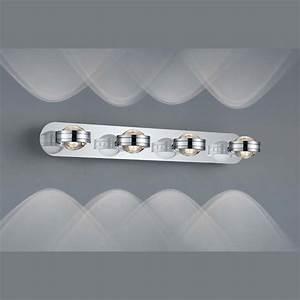 Wandlampe Mit Schalter : led wandlampe in chrom mit schalter ~ Watch28wear.com Haus und Dekorationen