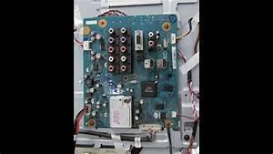 Lcd Tv Repair - Tv Has Audio  No Video