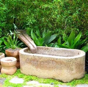 Fontaine D Exterieur En Pierre : am nagement ext rieur et application de la pierre la suite ~ Premium-room.com Idées de Décoration