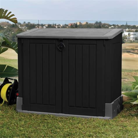 bureau manucure abri rangement de jardin coffre cache poubelle