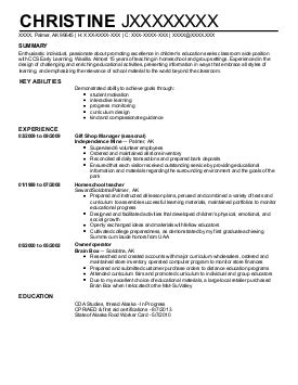 preschool director qualifications 10 013 childcare resume examples amp samples livecareer 236