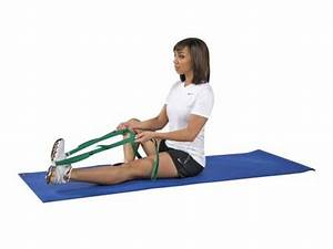 Stretch it out strap: calf stretch | Stretching, Rolling ...