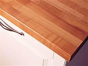 Folie Für Küchenarbeitsplatte : wandabschlu leiste massivholz kirschbaum kirsche kgz 25 3050 100 ~ Sanjose-hotels-ca.com Haus und Dekorationen