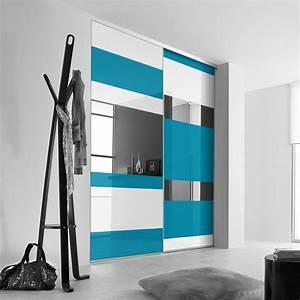 Porte Coulissante Miroir Sur Mesure : porte de placard coulissante sur mesure kazed esth te b de ~ Premium-room.com Idées de Décoration