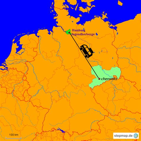 stepmap jugendherberge landkarte fuer deutschland