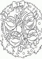 Coloring Ninja Pages Turtles Christmas Lego April Turtle Popular Library Clipart Coloringhome sketch template