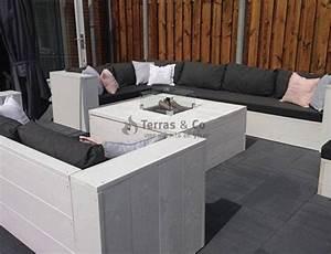 Gartentisch Mit Feuerstelle : feuertisch holz hocker modell quadratisch mit gaskamin terras co ~ Whattoseeinmadrid.com Haus und Dekorationen