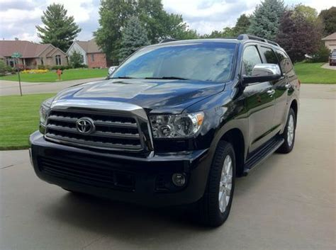 Toyota Platinum Warranty by Buy Used 2011 Platinum Toyota Sequoia W Extended Warranty