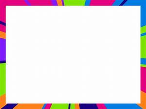 Neon stripes Powerpoint Background