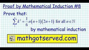 8 Proof By Induction  U03a3 K 2  N N 1  2n 1   6 Discrete