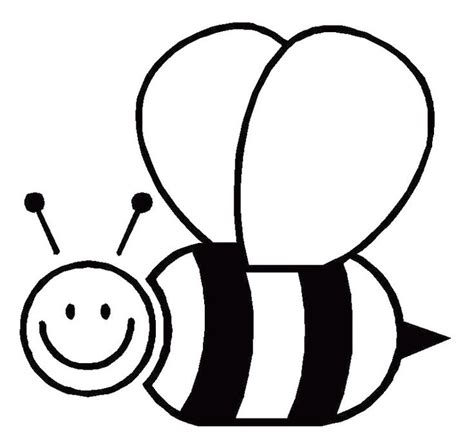 bee template google search bee coloring pages bee