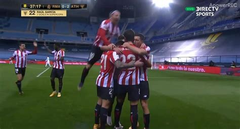 Real Madrid vs. Athletic Club Bilbao EN VIVO: GOL y ...