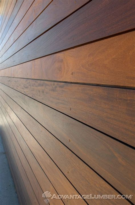 This Encino, Ca Home Used Advantage Ipe Shiplap Siding To