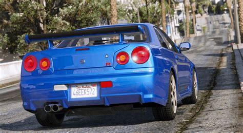 Nissan Skyline GT-R - GTA 5 Mod | Grand Theft Auto 5 Mod