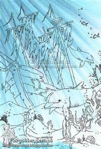 Underwater Shipwreck Tattoo Drawings