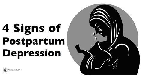 4 Signs Someone Has Postpartum Depression