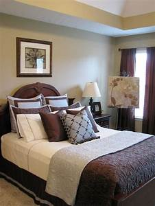 17 best blue and brown bedrooms rooms images on pinterest With brown and white bedroom ideas