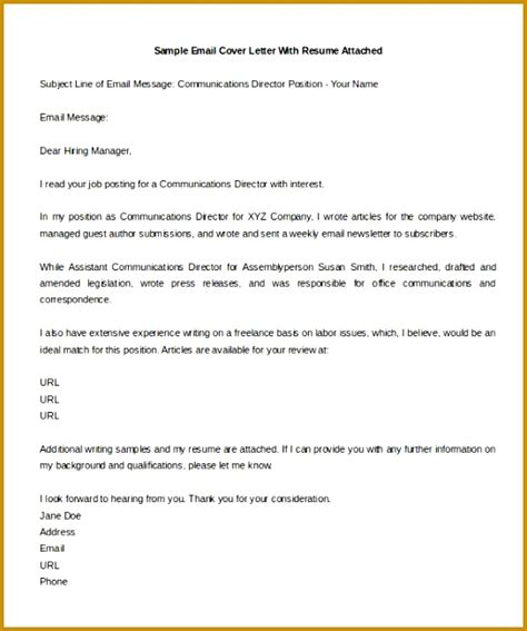 Email Cover Letter Template by 3 Occupational Introduction Letter Templates Fabtemplatez