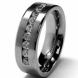30 most popular men39s wedding bands ideas black With black wedding rings for him