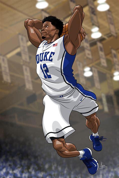 duke basketball art  behance