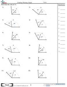 Find Missing Angles Worksheet Collection Of Missing Angles Worksheet Sharebrowse