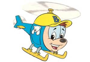 Budgie The Little Helicopter Kaleidoscope Dream Logos