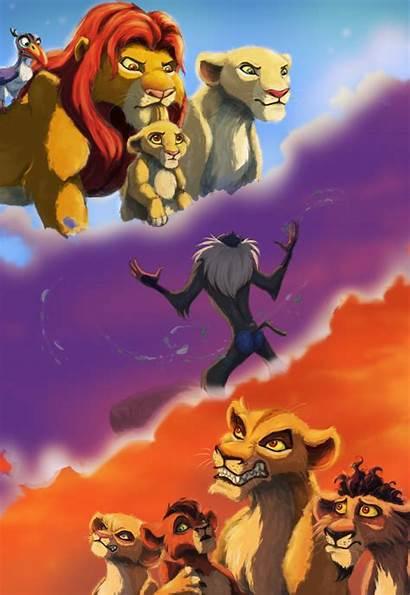 Lion Simba King Pride Deviantart Anniversary 20th