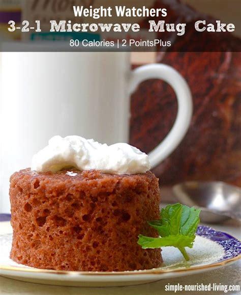 weight watchers    microwave mug cake recipe
