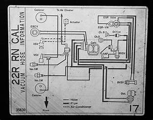34 22r Carburetor Vacuum Diagram