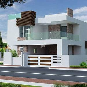 Front, Design, Of, Building, In, India