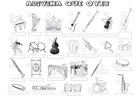 Instrumentos De Cuerda Para Colorear