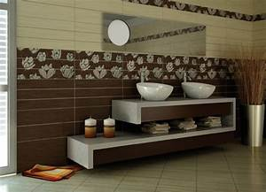 Decorative mosaic bathroom wall tiles home designs project
