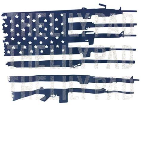 American gun flag svg, rifle flag svg, guns svg, 2nd amendment svg, distressed flag svg, military svg, svg for cricut, print,sublimation noppholartshop 5 out of 5 stars (173) US Flag and Gun Second Ammendment SVG Cut File